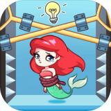 解救美人鱼逃脱游戏